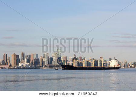 Vancouver Cityscape, Burrard Inlet