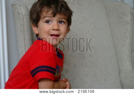Leaning Boy