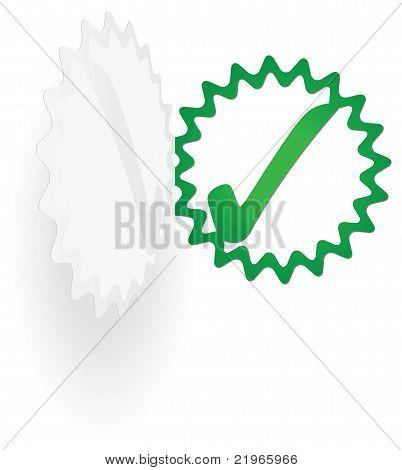 Tick Sticker