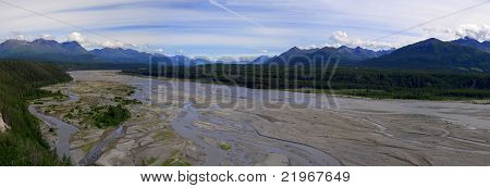 Matanuska River Valley, Alaska