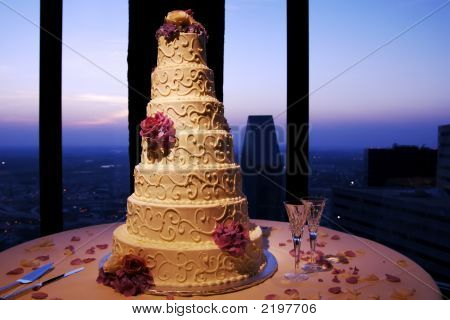 Cake With Skyline
