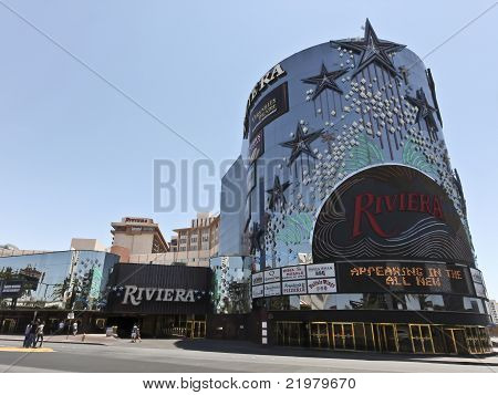 A View Of The Riviera Hotel And Casino