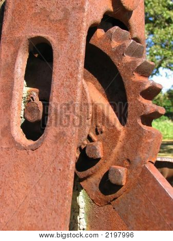 Rusty Cog Wheel