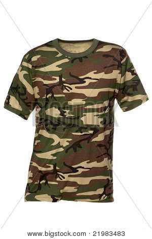 T-shirt carmouflage