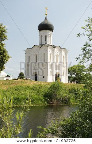 Church Of The Intercession On River Nerl