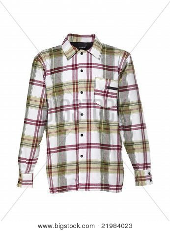 Checkered shirt for men