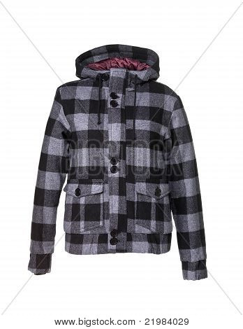 Hooded Jacket chequered