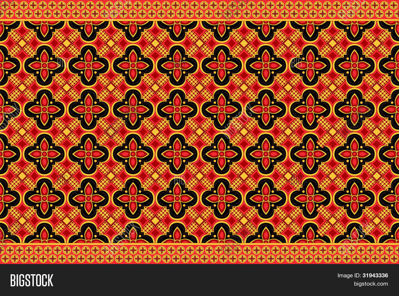 Indonesian Abstrak Batik: Batik Indonesia Vector & Photo