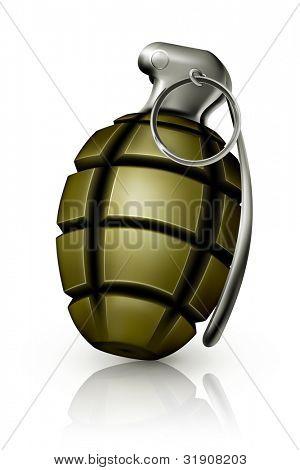 Hand grenade, bitmap copy