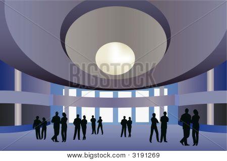 Big Hall Vector