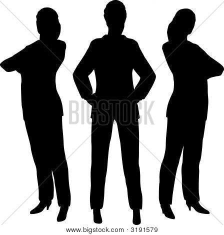 Three Businesswoman