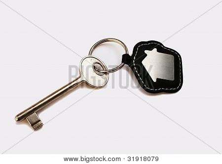 Isolated Key With House Icon