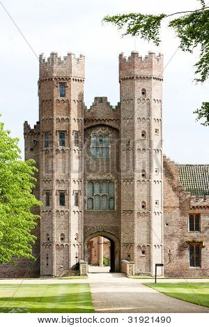Oxburgh Hall, Oxborough, Norfolk County, East Anglia, England