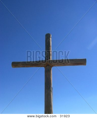 Large Wood Cross
