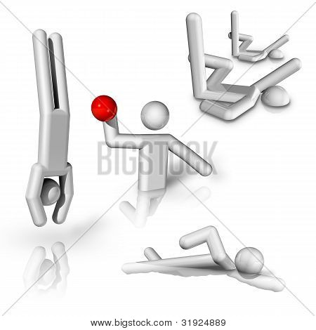 Sports Symbols Icons Series 8