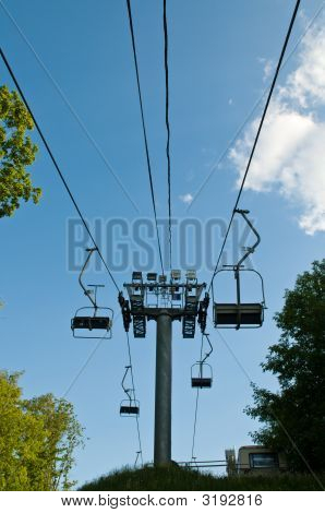 Empty Cable Way