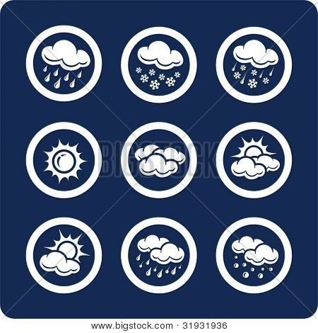 Weather icons (p.1) To see all icons, search by keywords: