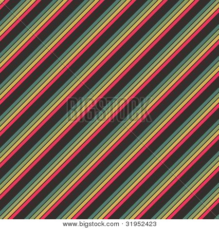 Earth Tone Diagonal Stripe Paper