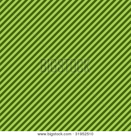 Green Two-Tone Diagonal Stripe Paper