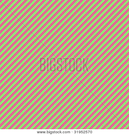 Watermelon Diagonal Stripe Paper