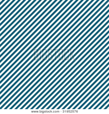White & Blue Diagonal Stripe Paper