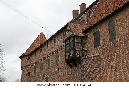 Part of Nyborg castle