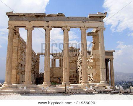 Greek Acropolis - The Erechtheum