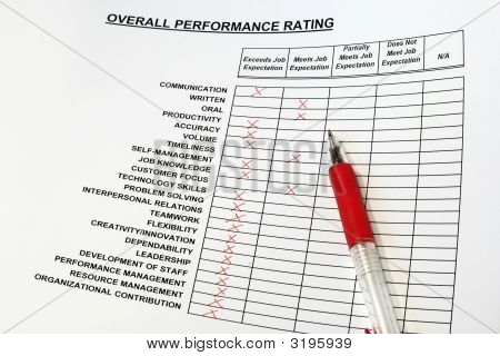 Overall Performance Rating