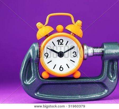 Oange Purple Time Squeeze
