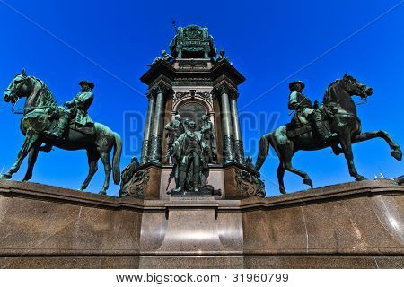 Vienna - Empress Maria Theresia Monument