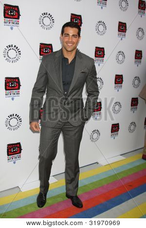 LOS ANGELES - APR 12:  Jesse Metcalfe arrives at Warner Brothers