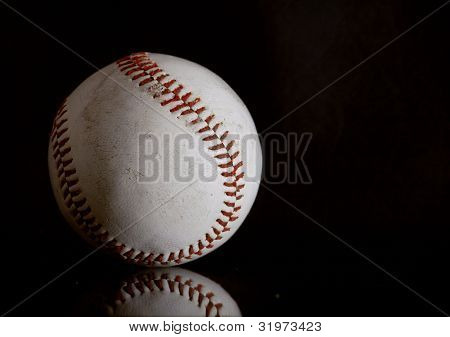 Baseball In Black