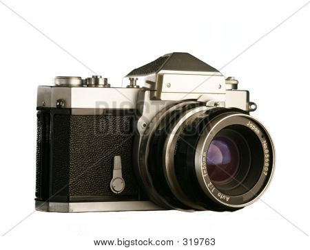 Classic Film Camera For The Nineteen Seventys