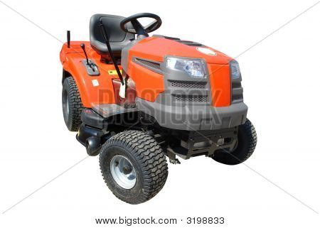 Lawnmower Isolated