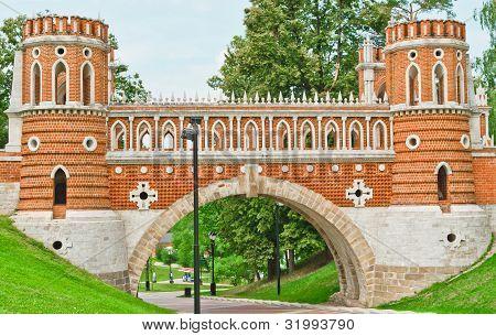 Palacio Tsaritsino, puente.
