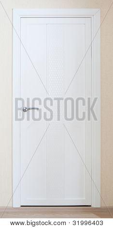 White New Door