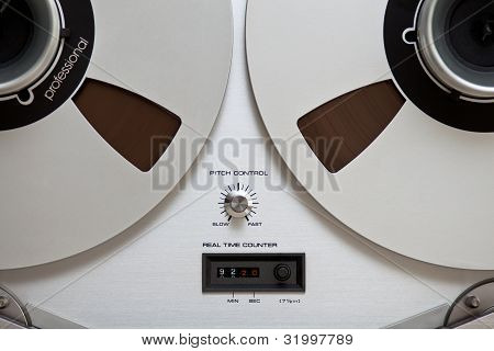 Analog Stereo Professional Sound Recording Tape Reels