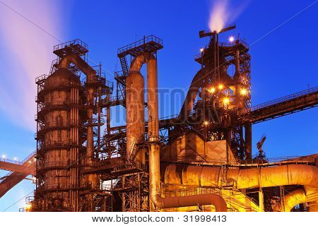 Blast furnace equipment