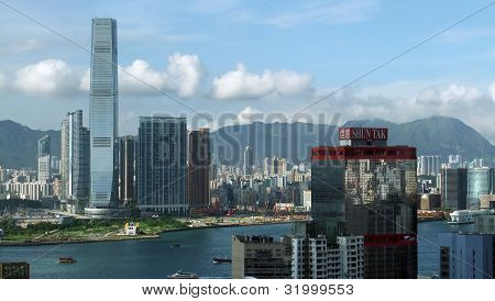 International Commerce Centre Opening-Editorial Use
