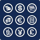Money and Finance (p.2). To see all icons, search by keywords: