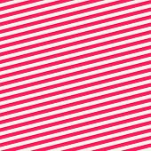 Diagonal Stripes Seamless Pattern. Red And White Vector Slanted Lines Texture. Simple Modern Abstrac poster