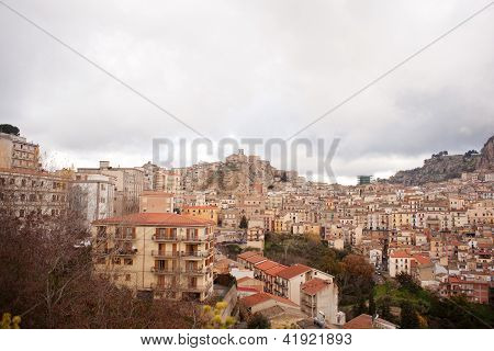 View Of Nicosia, Sicily