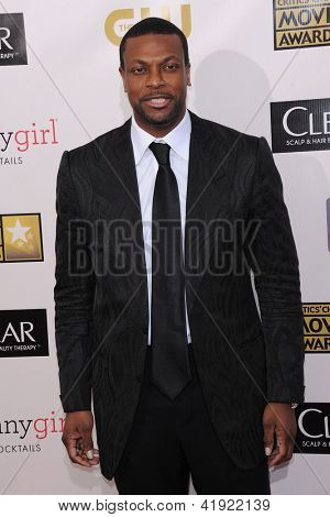 LOS ANGELES - JAN 10:  Chris Tucker arrives to the