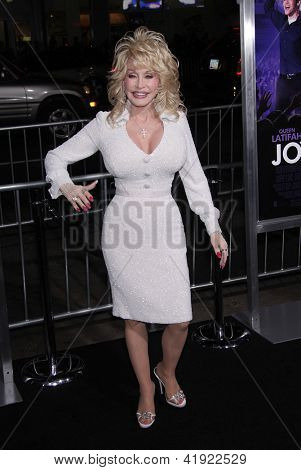 "LOS ANGELES - JAN 19:  DOLLY PARTON arriving to ""Joyful Noise"" Los Angeles Premeire  on January 19, 2012 in Hollywood, CA"