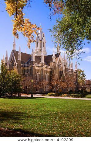 Church In The Mormon Temple Square
