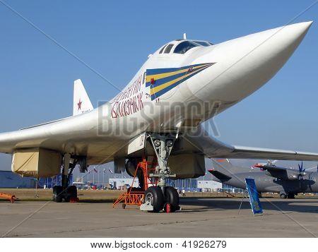 Jet Bomber Tu-160