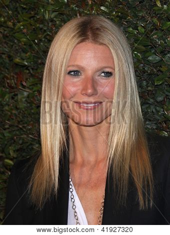 "LOS ANGELES - APR 13:  GWYNETH PALTROW arriving to ""My Valentine"" World Premiere  on April 13, 2012 in Beverly Hills, CA"