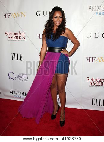 NEW YORK - MAY 01:  LALA VASQUEZ-ANTHONY arriving to 2nd Annual Mary J. Blige Honors Concert  on May 1, 2011 in New York, NY