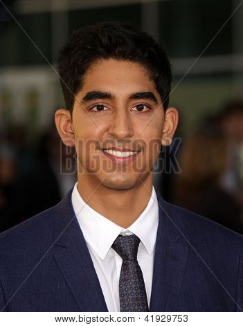 LOS ANGELES - JUN 20:  DEV PATEL arriving to HBO's Premiere of
