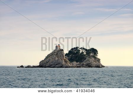 Islands with church St. Sunday